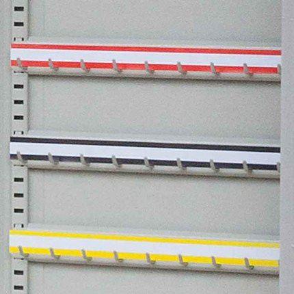 KSE400P - Blank Self Adhesive Hook Bar Label Strips