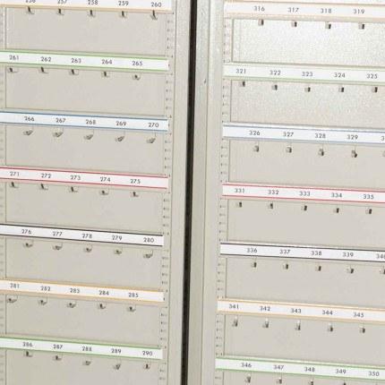 KSE400P - Numbered Self Adhesive Hook Bar Label Strips