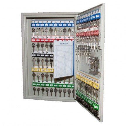 Deep Security Key Cabinet Euro Lock 100 Hooks - Key Secure KSE100D