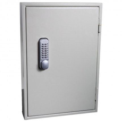 Keysecure KSE100DMD Extra Deep Push Button Secure Key Cabinet 100 Keys - closed