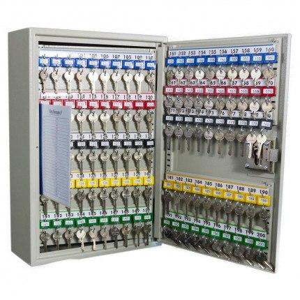Key Lock Extra Secure Cabinet 200 Hooks - KeySecure KSE200