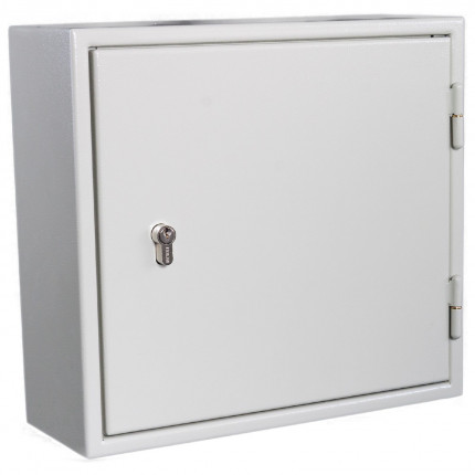 Secure Car Key Cabinet 25 Bunches - KeySecure KSE25 - closed