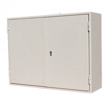 Extra Secure Key Cabinet 400 Hooks - Keysecure KSE400 - Door Closed