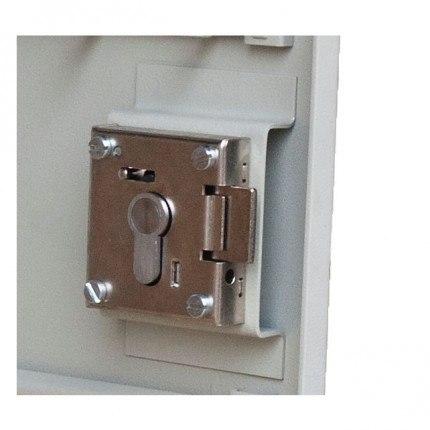 Euro Profile Lock Housing for Keysecure KSE25P large Padlock Storage cabinets