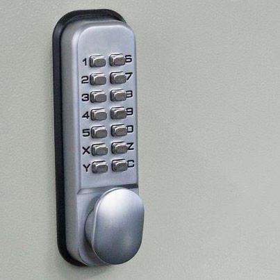 Mechanical Combination Lock for Key Secure 50 Hook Self Closing Key Cabinet