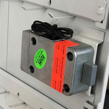 Securikey Key Vault KV030ZE Key Cabinet High Security Electronic Lock mechanism