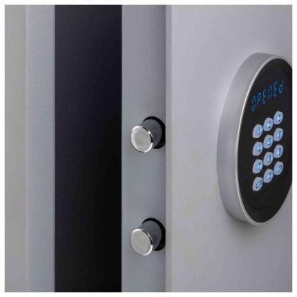 Securikey Electronic Key Storage & Key Deposit Safe 70 Keys - door bolts