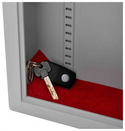 Securikey KZ120-ZE Electronic Key Deposit Security Storage Safe - red carpet