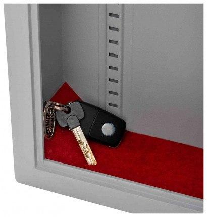 Securikey Electronic Key Storage & Key Deposit Safe 70 Keys - keys deposit onto carpet