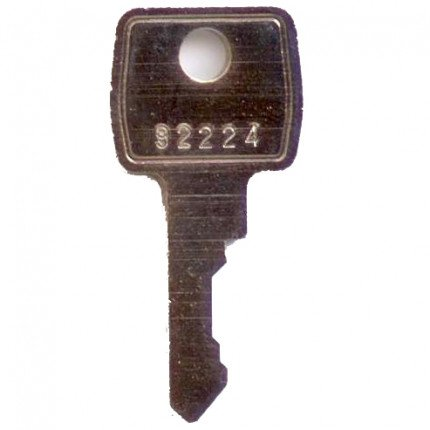 L&F Replacement Key for Cabinets
