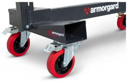 Armorgard Loadall LA750-PRO Castors detail