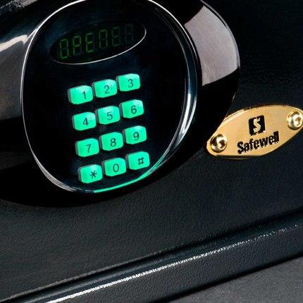 Burton Lambent Digital Hotel Laptop Safe digital key pad