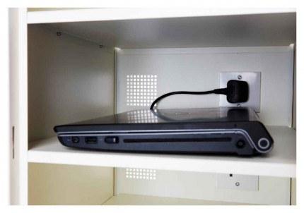 Probe Lapbox 15CHD Laptop Charging Locker 15 Door - close up