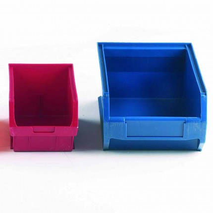 Larger Plastic Bins for tools and spares for fitting on Bedford Louvre Cabinets
