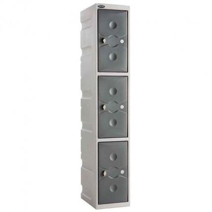 Probe UltraBox 3 Door Plastic Locker grey
