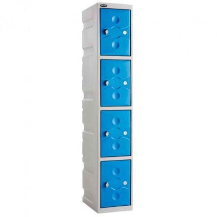 Probe UltraBox 4 Door Plastic Locker blue doors