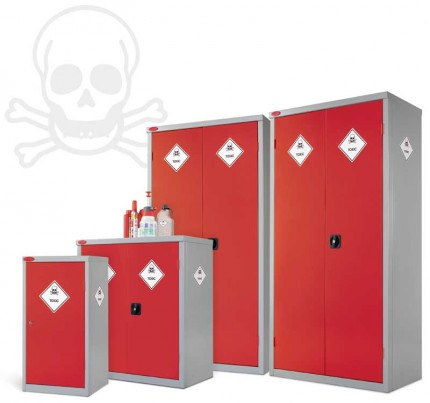 Probe Toxic Steel Cabinets