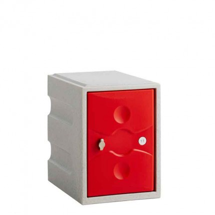 Probe UltraBox plus Mini+ Plastic Locker - red