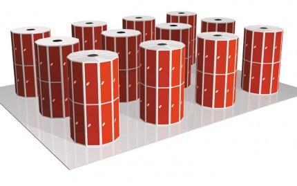 Probe 7 Door Steel Locker showing several lockers organised in a locker room