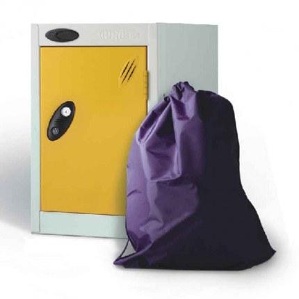 Probe Quartos Locker 480x305x305 Key Lock yellow