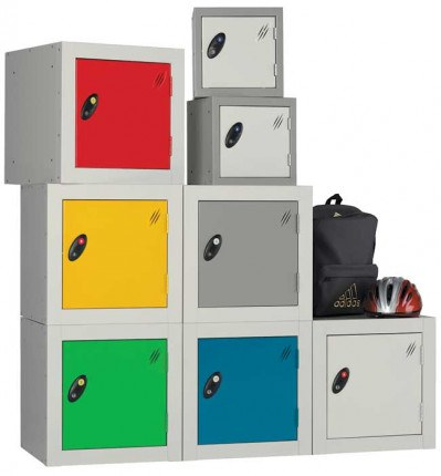 Probe Cube Lockers are ideal for primary schools