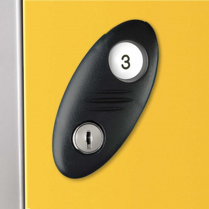 Probe Type A Spare Cam Lock for Probe Lockers fitted on door