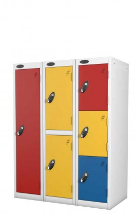 Probe Primary School Lockers - in a nest