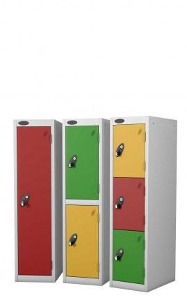 Probe Primary School Lockers - group
