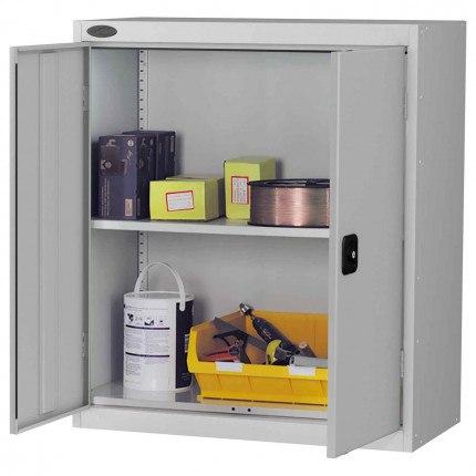 Probe LC403618 Double Door Cabinet 915x460 - All Silver Grey