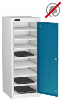 Probe Lapbox 8ST Laptop Storage Locker 8 Compartments - Blue