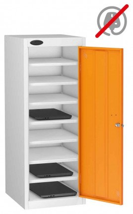 Probe Lapbox 8ST Laptop Storage Locker 8 Compartments - orange