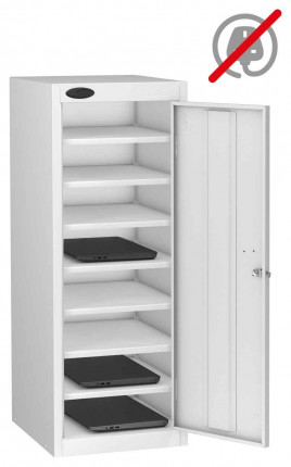 Probe Lapbox 8ST Laptop Storage Locker 8 Compartments - White