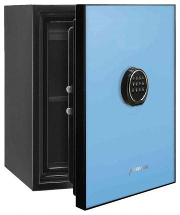 Phoenix Spectrum LS6001EB Digital Blue 60 min Fire Safe - door ajar