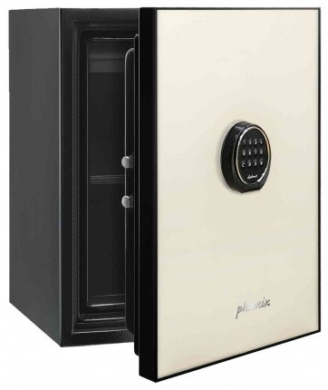 Phoenix Spectrum LS6001EC Digital Cream 60 min Fire Safe - door ajar