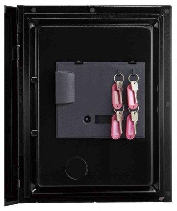 Phoenix Spectrum LS6001ELG Digital L/Grey 60 min Fire Safe - door key rack