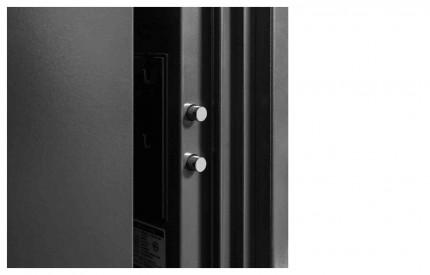 Phoenix Spectrum LS6001ELG Digital L/Grey 60 min Fire Safe - door bolts