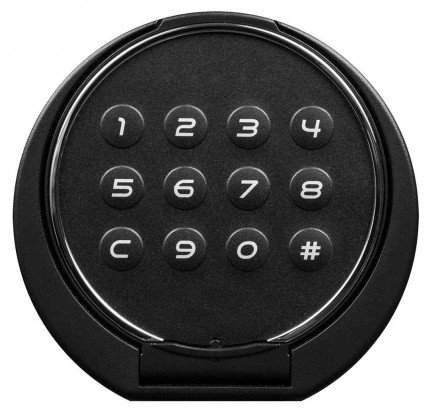 Phoenix Spectrum LS6001ELG Digital L/Grey 60 min Fire Safe - electronic lock