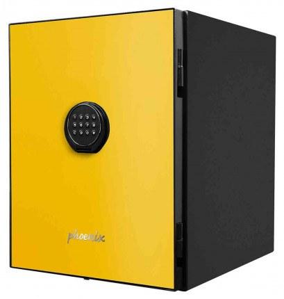 Phoenix Spectrum LS6001EY Digital Yellow 60 min Fire Safe - door closed