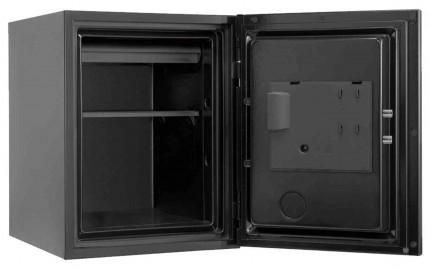 Phoenix Spectrum Plus LS6011FB Titanium Black Luxury Fire Security Safe open