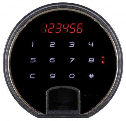 Phoenix Spectrum Plus LS6011FR Burgundy 60 min Fire Safe digital lock