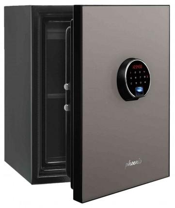 Phoenix Spectrum Plus LS6012FS Metallic Silver Luxury Fire Security Safe door ajar
