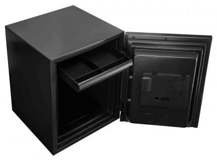 Phoenix Spectrum Plus LS6012FS Metallic Silver Luxury Fire Security Safe - drawer unit