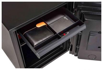 Phoenix Spectrum Plus LS6012FS Metallic Silver Luxury Fire Security Safe dreawer