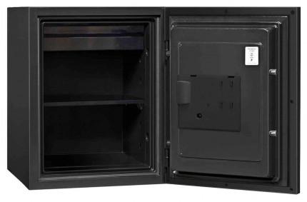 Phoenix Spectrum Plus LS6012FB Titanium 90 min Fire Safe - open