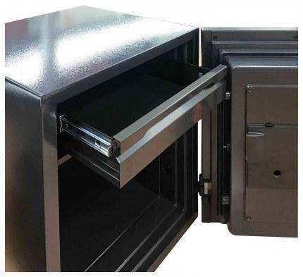 Phoenix Spectrum Plus LS6012FB Titanium 90 min Fire Safe - drawer