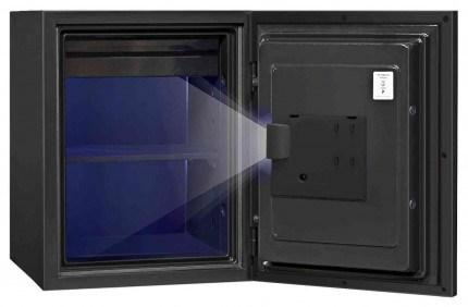 Phoenix Spectrum Plus LS6012FG Champagne Gold Luxury Fire Security Safe - internal light