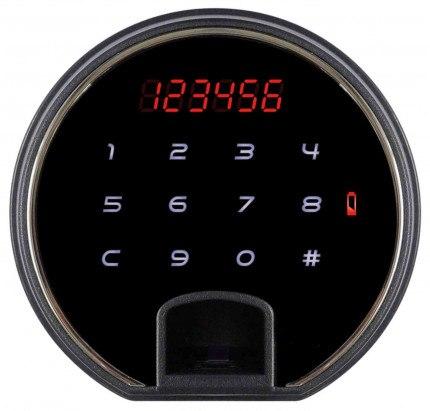 Phoenix Spectrum Plus LS6012FR Burgundy Red 90 min Fire Safe - electronic lock