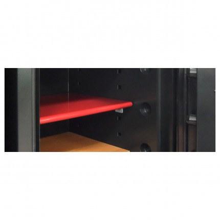 Phoenix Next LS7001FB Luxury Black 60 mins Fire Security Safe - felt line shelf