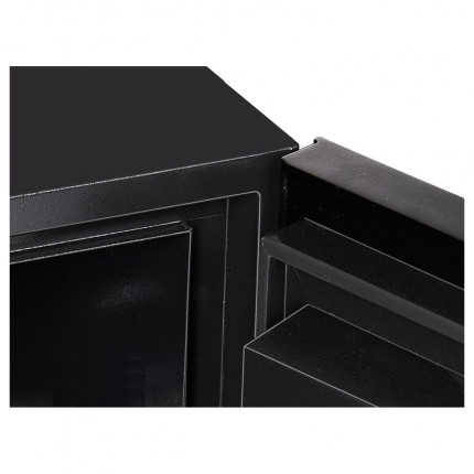 Phoenix Next Luxury Safe LS7001FC showing door hinges