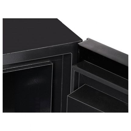 Phoenix Next Luxury Safe LS7001FC showing door hinges